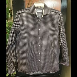 Robert Graham sz 15.5 long sleeve shirt